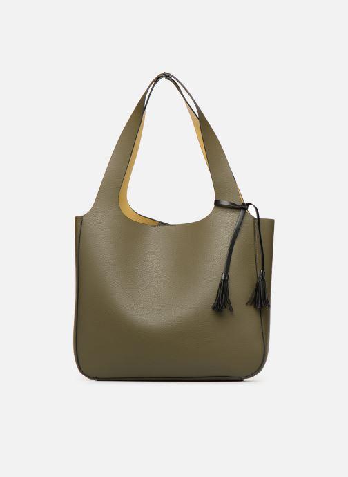 Handtaschen Monoprix Femme CABAS POMPON PU grün detaillierte ansicht/modell