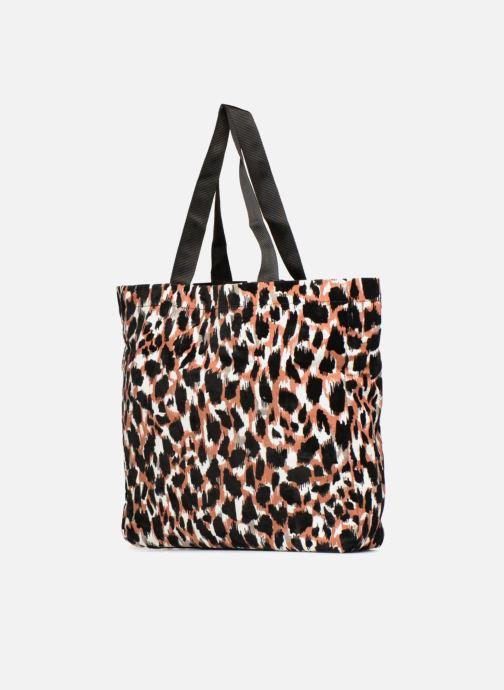 Handtaschen Monoprix Femme TOTE BAG LEOPARD orange ansicht von rechts