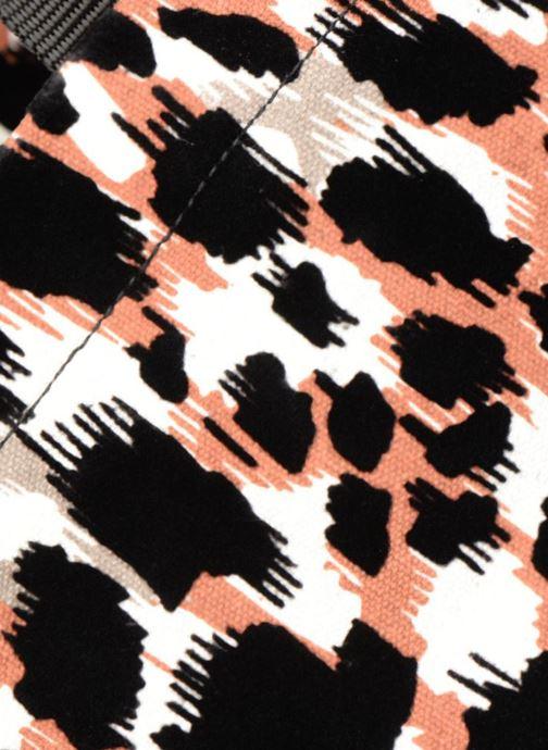 Sacs à main Monoprix Femme TOTE BAG LEOPARD Orange vue gauche