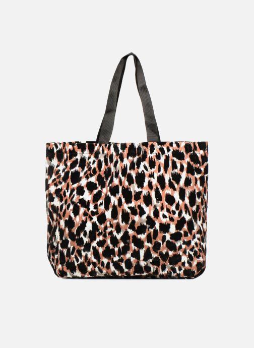 Handtaschen Monoprix Femme TOTE BAG LEOPARD orange detaillierte ansicht/modell