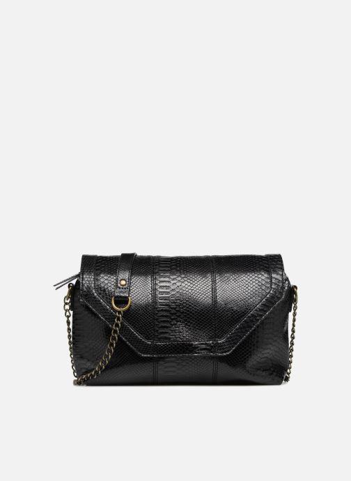 Handtaschen Monoprix Femme POCHETTE PU CROCO schwarz detaillierte ansicht/modell