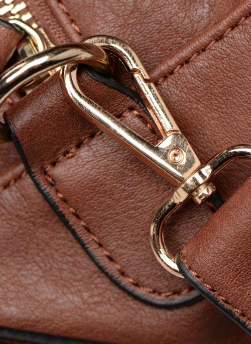 Handtaschen Monoprix Femme SAC 48H PU DOUBLE PORTES braun ansicht von links