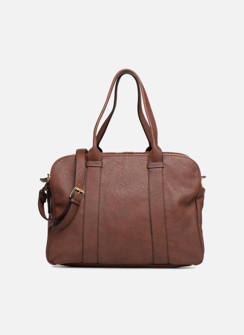 Handtaschen Monoprix Femme SAC 48H PU DOUBLE PORTES braun detaillierte ansicht/modell