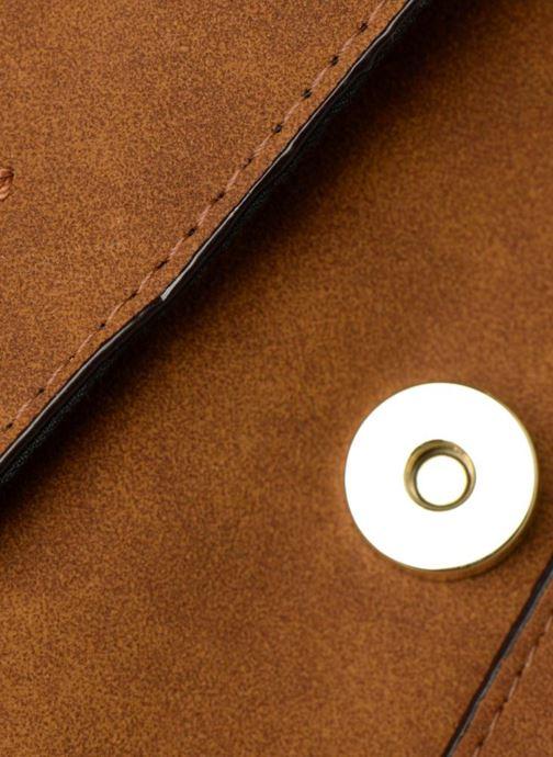 Handtaschen Monoprix Femme CABAS TEXTILE ROUSSE braun ansicht von links