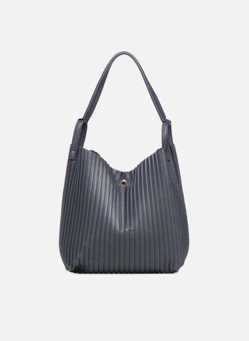 Handtaschen Monoprix Femme CABAS PLISSE blau ansicht von vorne