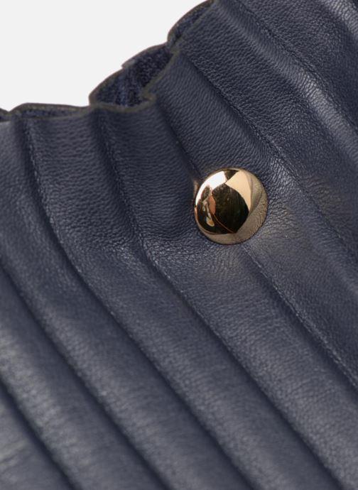 Sacs à main Monoprix Femme CABAS PLISSE Bleu vue gauche