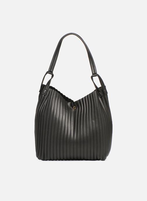 Handtaschen Monoprix Femme CABAS PLISSE schwarz detaillierte ansicht/modell