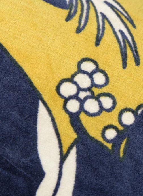 Handtaschen Monoprix Femme TOTE BAG VELOURS FLEURS gelb ansicht von links