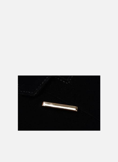 Bolsos de mano Monoprix Femme POCHETTE MINI VELOURS Negro vista lateral izquierda
