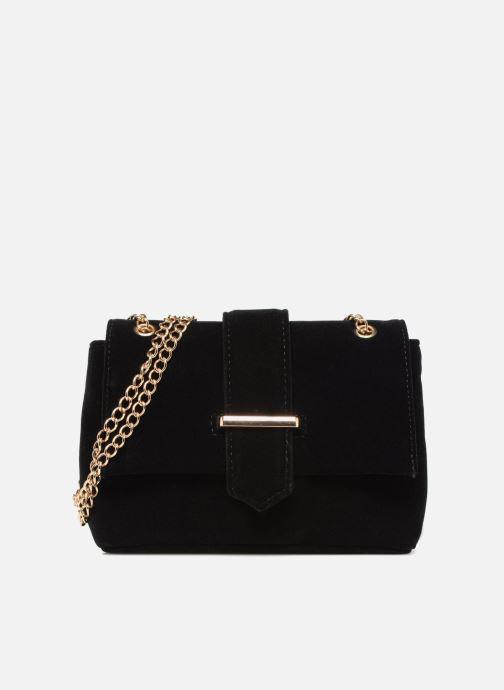 Handtaschen Monoprix Femme POCHETTE MINI VELOURS schwarz detaillierte ansicht/modell