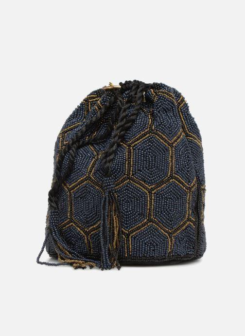 Handtaschen Monoprix Femme POCHETTE SEAU PERLES NOIR schwarz schuhe getragen