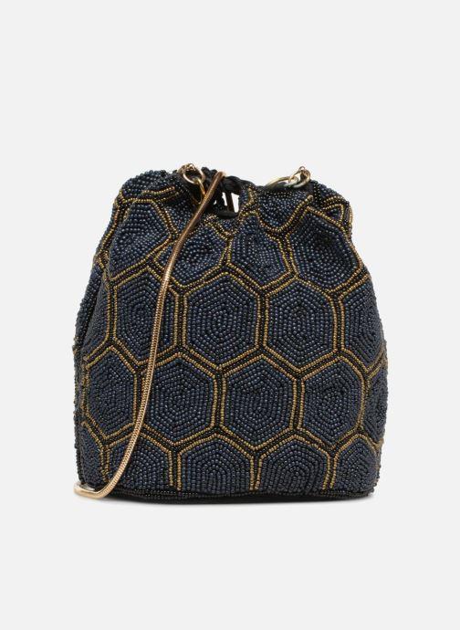 Handtaschen Monoprix Femme POCHETTE SEAU PERLES NOIR schwarz ansicht von vorne