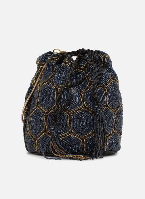 Bolsos de mano Monoprix Femme POCHETTE SEAU PERLES NOIR Negro vista de detalle / par
