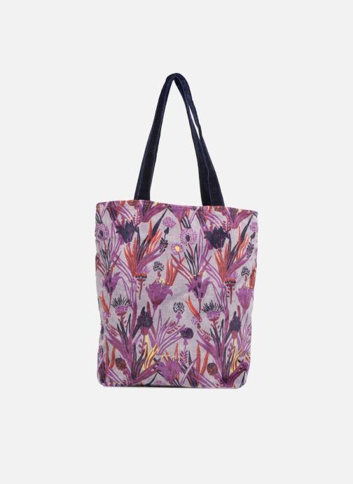 Handbags Monoprix Femme TOTE BAG AOP CHARDON Purple detailed view/ Pair view