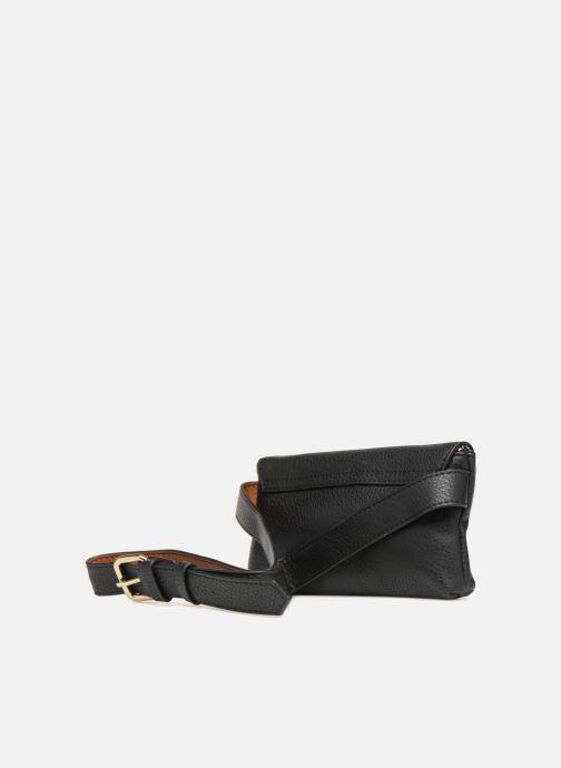 Portemonnaies & Clutches Monoprix Femme BANANE BICOLORE schwarz ansicht von rechts