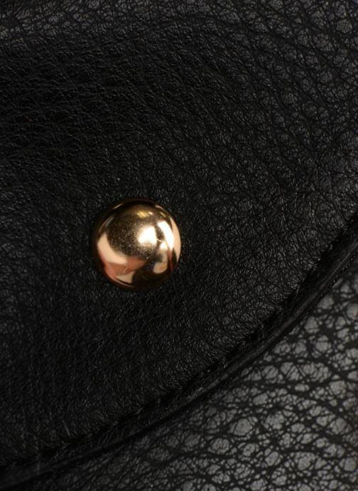 Portemonnaies & Clutches Monoprix Femme BANANE BICOLORE schwarz ansicht von links