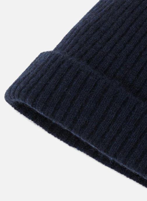 Bonnets Monoprix Homme BONNET CACHEMIRE HOMME Bleu vue portées chaussures