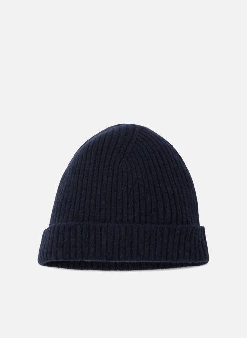 Bonnets Monoprix Homme BONNET CACHEMIRE HOMME Bleu vue détail/paire