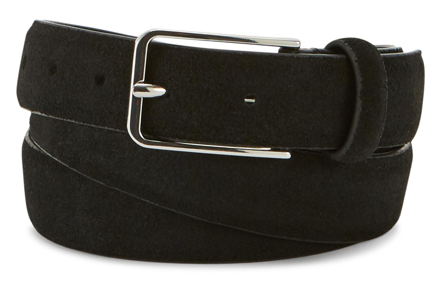 Belts Monoprix Homme COFFRET CEINTURE CUIR Black detailed view  Pair view 431bf27f363