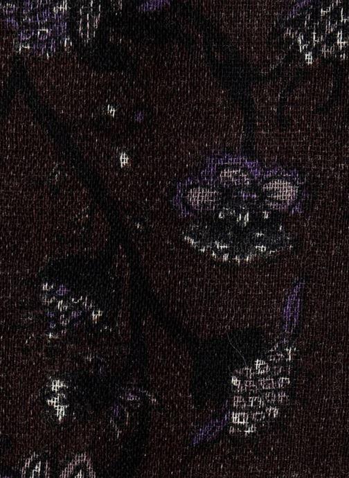 Echarpes et Foulards Monoprix Homme CHECHE FLORAL LAINE AMETHYSTE Violet vue face