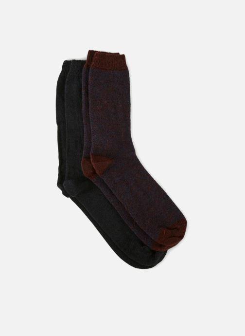 Socken & Strumpfhosen Monoprix Homme CHAUSSETTE LOT DE 2 CHEVRONS blau schuhe getragen