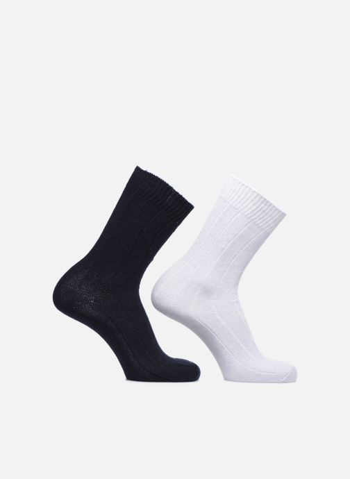 Socken & Strumpfhosen Monoprix Homme COFFRET DE 2 CHAUSSETTES blau detaillierte ansicht/modell