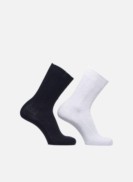 Sokken en panty's Monoprix Homme COFFRET DE 2 CHAUSSETTES Blauw detail