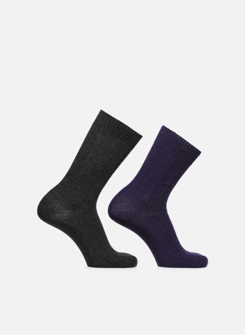 Socken & Strumpfhosen Monoprix Homme COFFRET DE 2 CHAUSSETTES grau detaillierte ansicht/modell