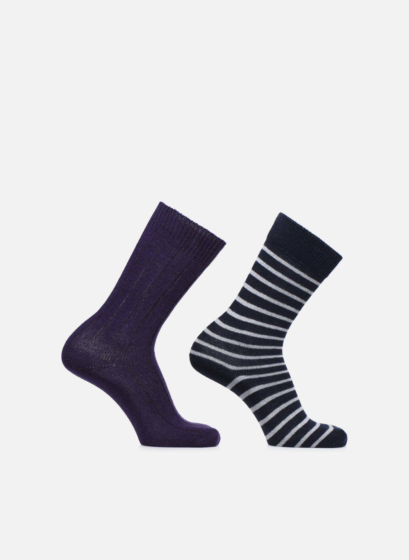 Socken & Strumpfhosen Accessoires COFFRET DE 2 CHAUSSETTES
