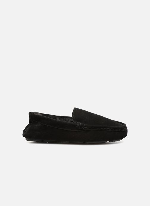 Pantoffels Monoprix Homme SLEEPER CUIR NOEL Zwart achterkant