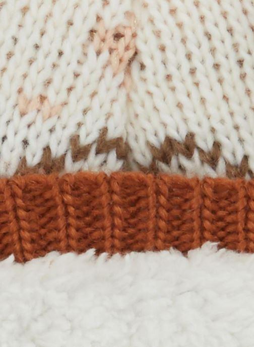 Bonnets Monoprix Kids BONNET JACQUARD F Marron vue portées chaussures