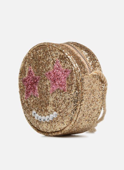 Handbags Monoprix Kids SAC PAILETTE NOEL F Bronze and Gold model view