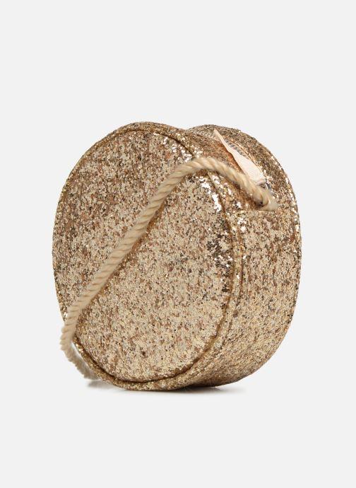 Bolsos de mano Monoprix Kids SAC PAILETTE NOEL F Oro y bronce vista lateral derecha