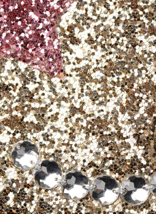 Handtaschen Monoprix Kids SAC PAILETTE NOEL F gold/bronze ansicht von links