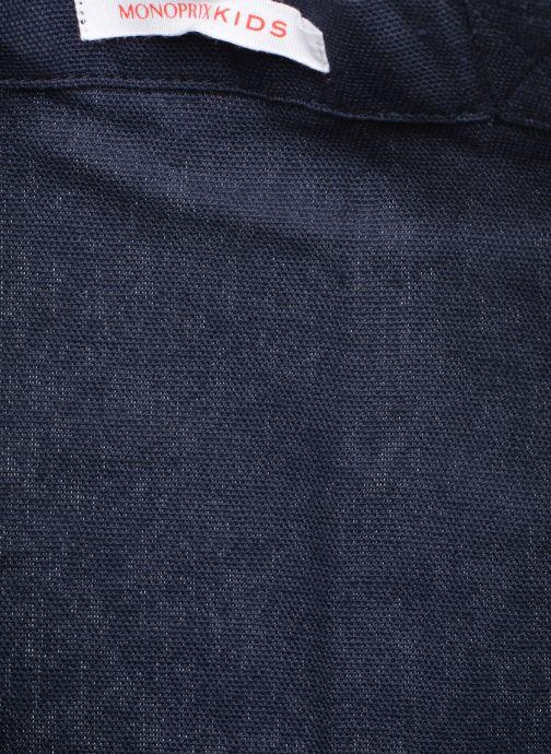 Handtassen Monoprix Kids SAC COEUR SEQUINS F Blauw achterkant
