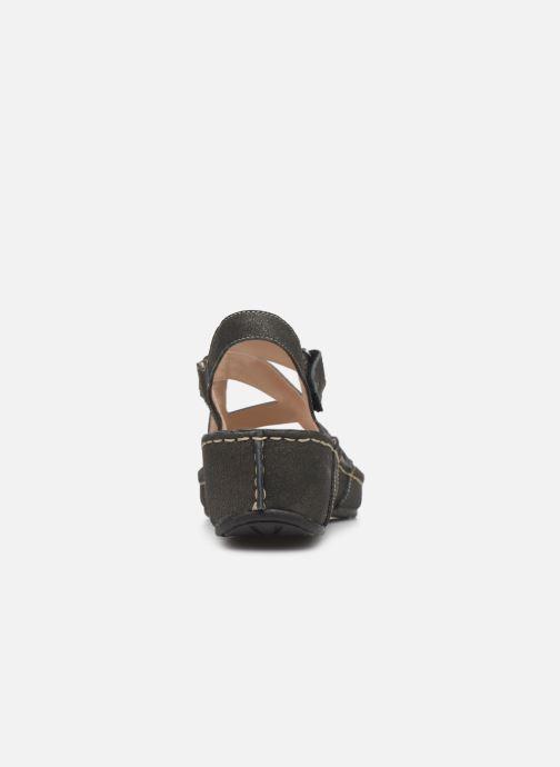 Sandales et nu-pieds TBS Easy Walk Vermeil Noir vue droite