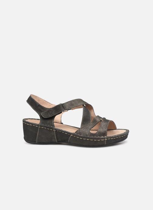 Sandales et nu-pieds TBS Easy Walk Vermeil Noir vue derrière