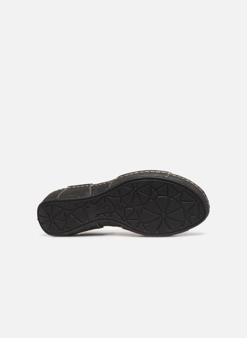 Sandales et nu-pieds TBS Easy Walk Vermeil Noir vue haut