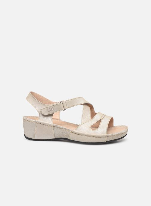 Sandales et nu-pieds TBS Easy Walk Vermeil Blanc vue derrière
