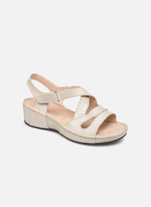 Sandales et nu-pieds TBS Easy Walk Vermeil Blanc vue détail/paire