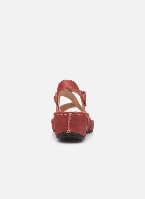 Sandales et nu-pieds TBS Easy Walk Vermeil Rouge vue droite
