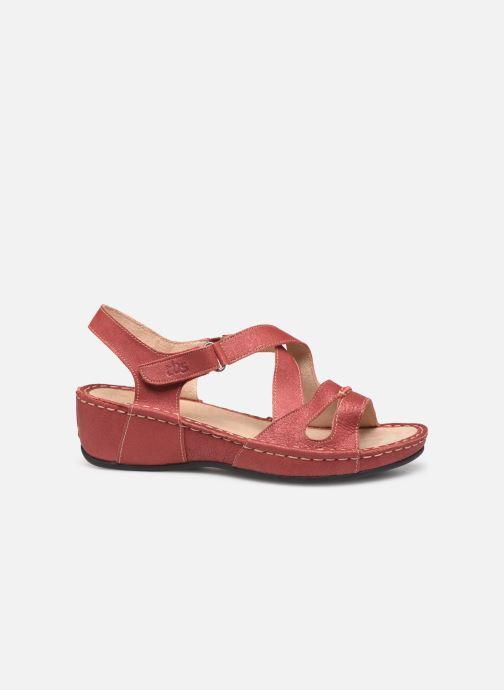 Sandales et nu-pieds TBS Easy Walk Vermeil Rouge vue derrière
