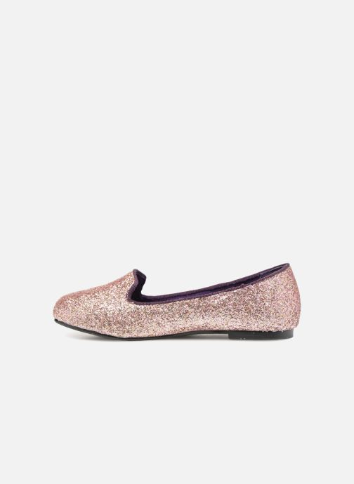 Mocassins Monoprix Kids SLIPPERS PAILET ROSE F Violet vue face