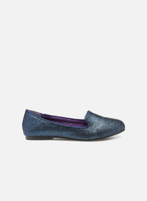 Loafers Monoprix Kids SLIPPERS PAILL NOIR F Blue back view