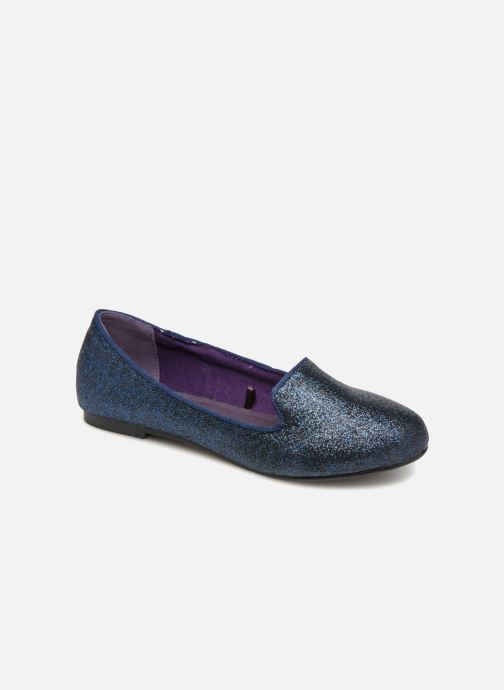 Loafers Monoprix Kids SLIPPERS PAILL NOIR F Blue detailed view/ Pair view