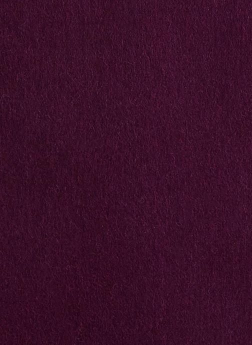Scarf Monoprix Premium ECHARPE LAINE UNIE TORSADEE Burgundy front view