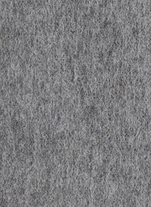 Halstørklæde og tørklæde Monoprix Premium ECHARPE LAINE UNIE TORSADEE Grå se forfra