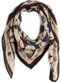 Sciarpa y foulard Accessori CARRÉ LAINE FLEURS
