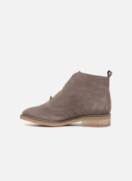 Premium Fouree Lacets 360961 Boots Monoprix Schnürschuhe grau OaBxB7w