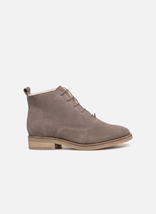 Zapatos con cordones Monoprix Premium BOOTS LACETS FOUREE Gris vistra trasera